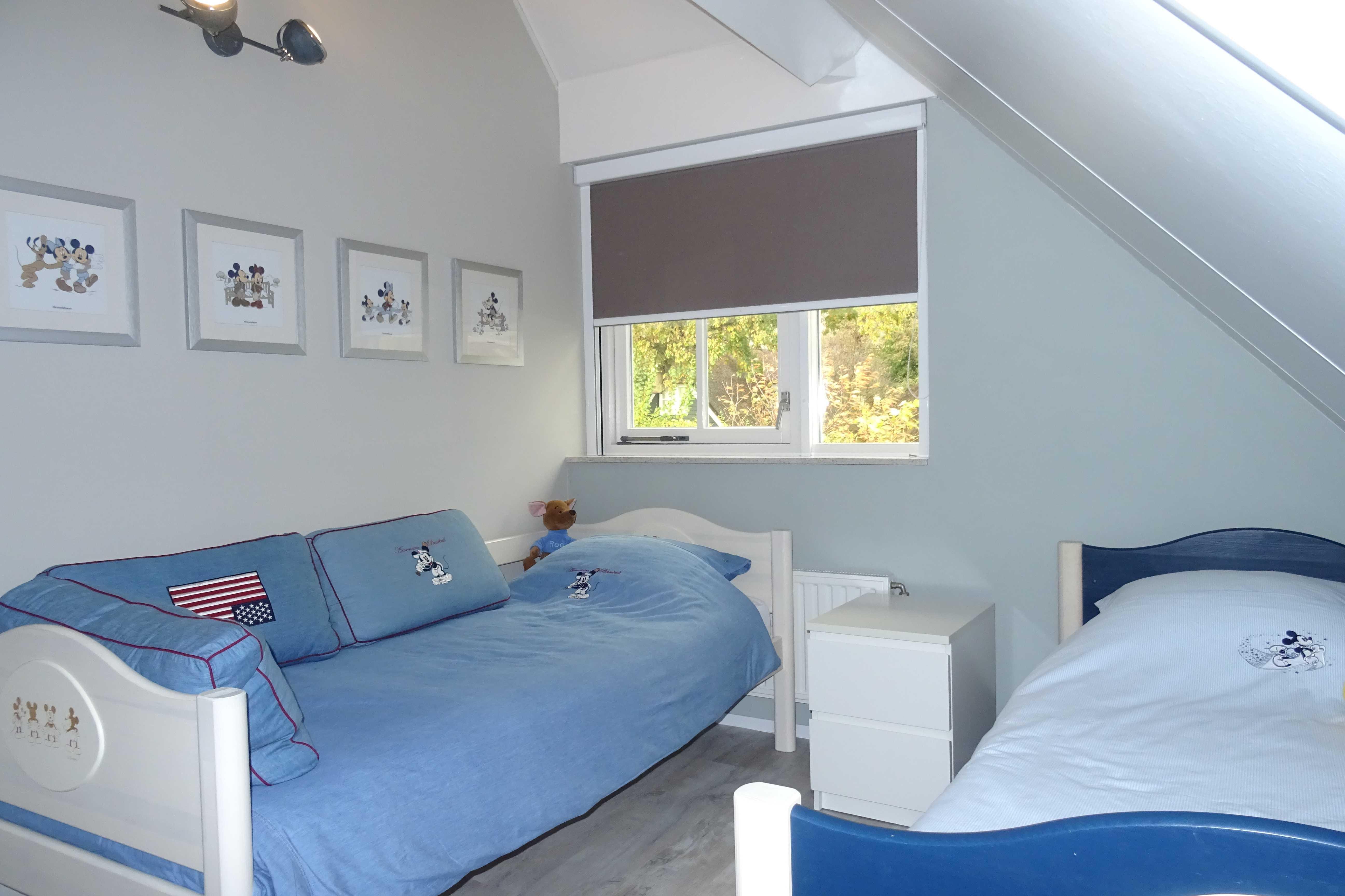 kinderslaapkamer-twee-bedden-villa-burghduin